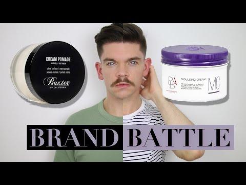 Baxter of California Cream Pomade vs. BBA Moulding Cream | Brand Battle