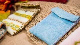 Make Kami Cotler's Felted Wool Covers!