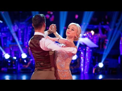 Helen George & Aljaz Waltz to 'With You I'm Born Again'  Strictly Come Dancing: 2015