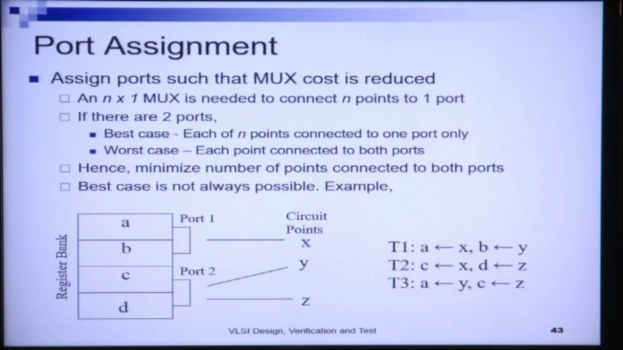 NPTEL :: Electronics & Communication Engineering - NOC:VLSI Design