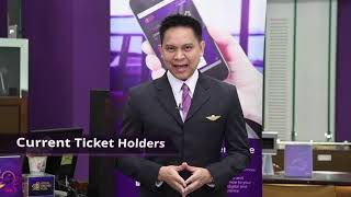 THAI provide clarification for ROP member and current ticket holders / refund request