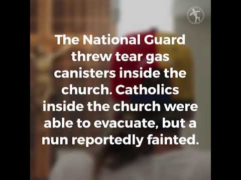 Venezuelan National Guard attacks church during Mass