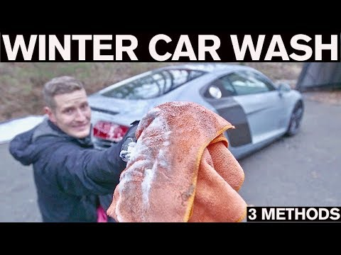 How to Wash your Car in Freezing Winter Temps!