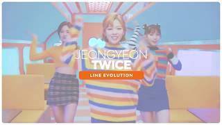 TWICE   JEONGYEON Line Evolution • APR 2018 Mpgun com