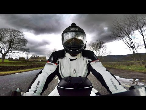 Testing the Michelin Road 5 Tyres & Richa Cyclone Gore-Tex Suit