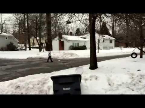 Snow Roller Shot