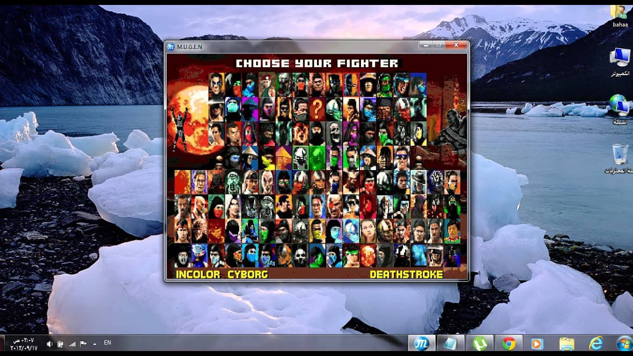 Скачать mortal kombat mugen project 4 9 3