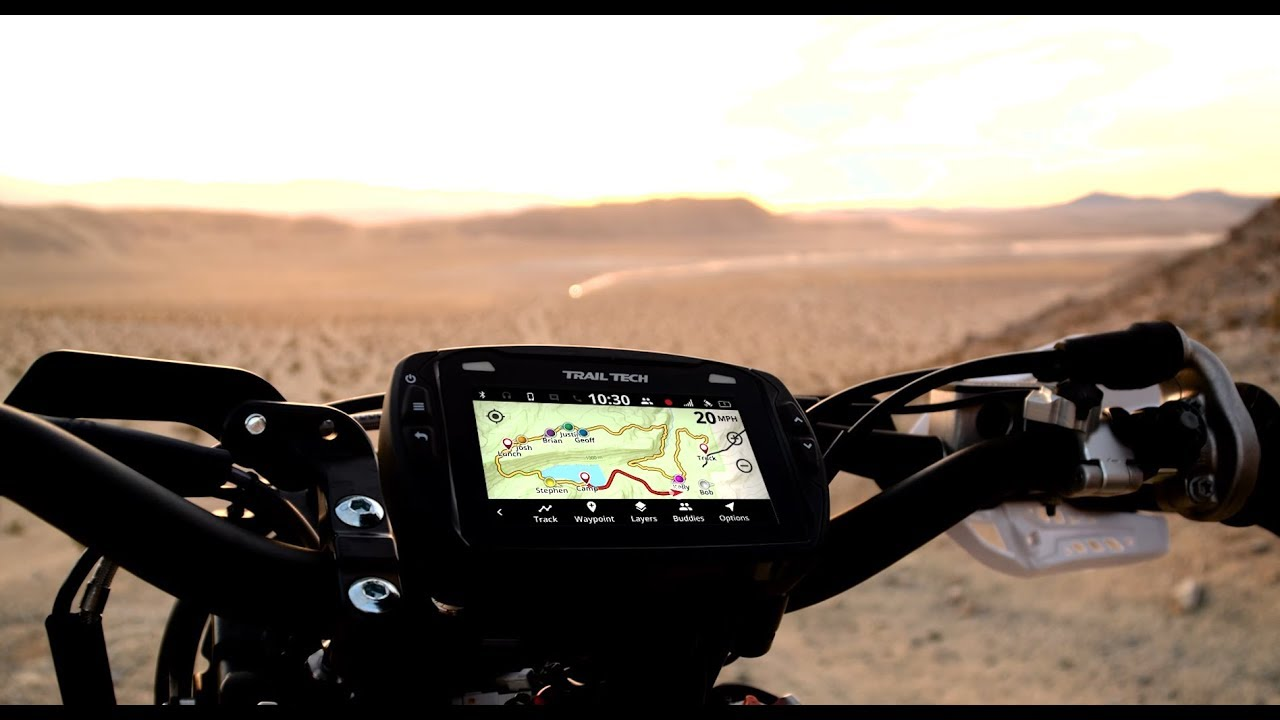 Best Gps For Dirt Bike Trail Riding 2019 Trail Tech Voyager Pro   YouTube