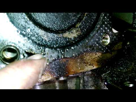 Kohler command engine leaking oil bad hea easy fix