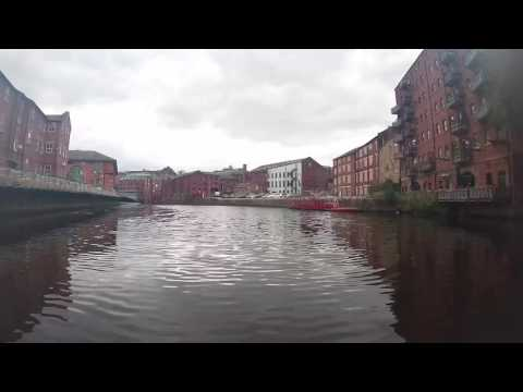 Water Taxi from Leeds Dock to Granary Wharf, Leeds, West Yorkshire, England - 12th August, 2016