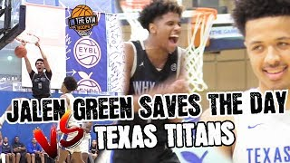 Calipari Watch's Jalen Green an Russell Westbrook's TEAM WHY NOT BEAT CADE CUNNINGHAM'S Texas Titans