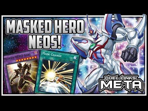 Masked Hero Neos! [Yu-Gi-Oh! Duel Links]