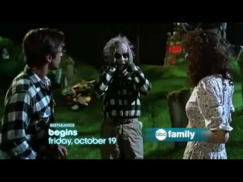 abc family 13 nights of halloween 2012 promo