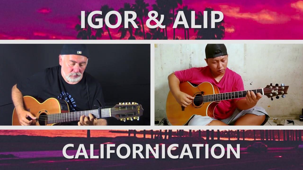 Igor Presnyakov & Alip Ba Ta - Californication (RHCP) - fingerstyle guitar collaboration