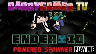 Ender IO Powered Spawner Direwolf20 Tutorial