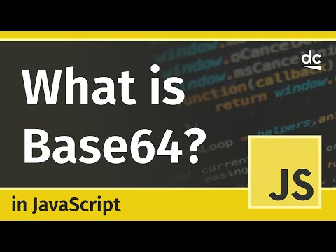 Base64 Encoding In JavaScript - Explained (with Usage Examples)
