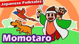 Momotaro the Peach Boy (a cute tale used for propaganda?)  Japanese Folktales