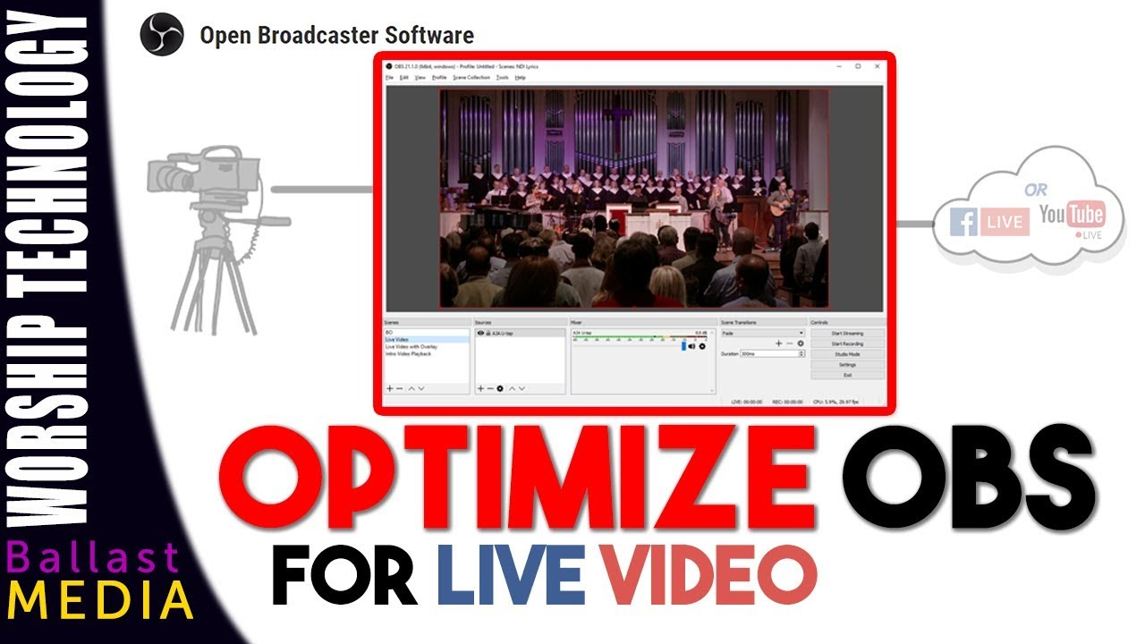 Obs Optimization Best Settings For Live Video Youtube