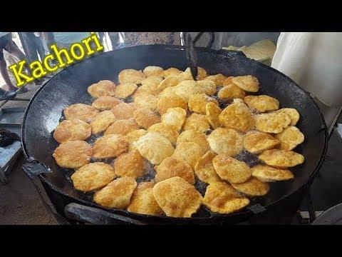 Famous Kachori Orangi Town   Street Food Of Karachi Pakistan