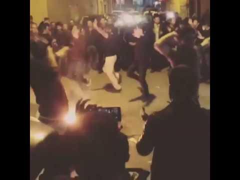 چهارشنبه سوری تبریز همراه با رقص اصیل آذربایجانی Tabriz