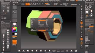 Zbrush Zmodeler Tutorial Spiegazione 4 Ita - Dynamic subdivide e Crease