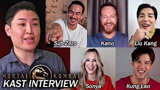 Intervista al film di Mortal Kombat (2021) KAST !! (Joe Taslim, Ludi Lin, Max Huang e ALTRO)
