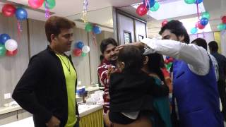 Ravi Kishan,Raj Kumar R Pandey -Dhwanit Birthday Party