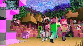 Minecraft & Media Environment | Influence Influenza