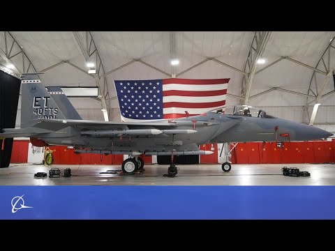 F-15EX Eagle II Spreads its Wings
