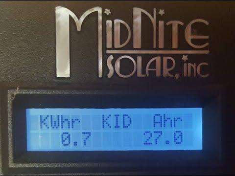 Off Grid Solar Power - Baseload power consumption