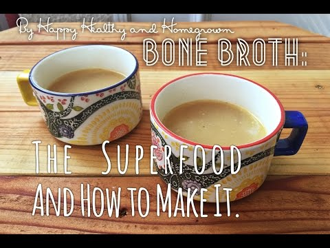 Super EASY Bone Broth: The Superfood & How to Make It!
