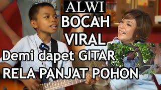 Download lagu Dapet GITAR BARU!!! Alwi BocahViral langsung diajarin main gitar & dapet tandatangan EL, DUL, MAIA.