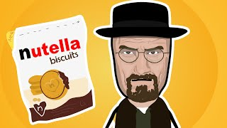 NUTELLA BISCUITS venduti da WALTER WHITE di BREAKING BAD
