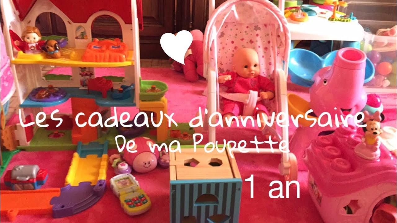 Cadeaux Anniversaire De Poupette 1 An Youtube