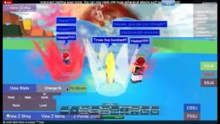 roblox dbz orgins beam clashing