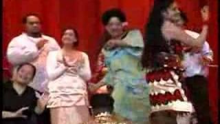 Tongan Taualuga