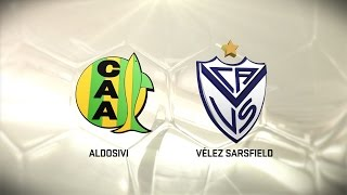 Aldosivi vs Velez Sarsfield full match