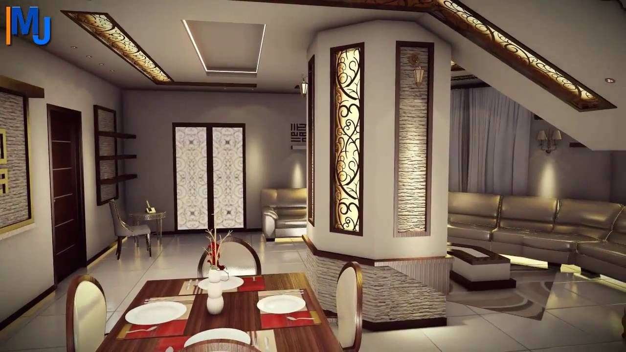 Modern villa interior design 3d architecture design for Villa lotto interior design