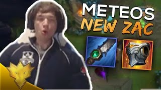 Meteos PLAYS NEW ZAC - Meteos Stream Highlights & Funny Moments