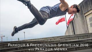 Parkour & Freerunning Springjam Linz | Parkour Vienna
