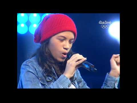 """Nicole canta """"Feeling good""""   La Voz Kids Perú   Audiciones a ciegas   Temporada 3"""