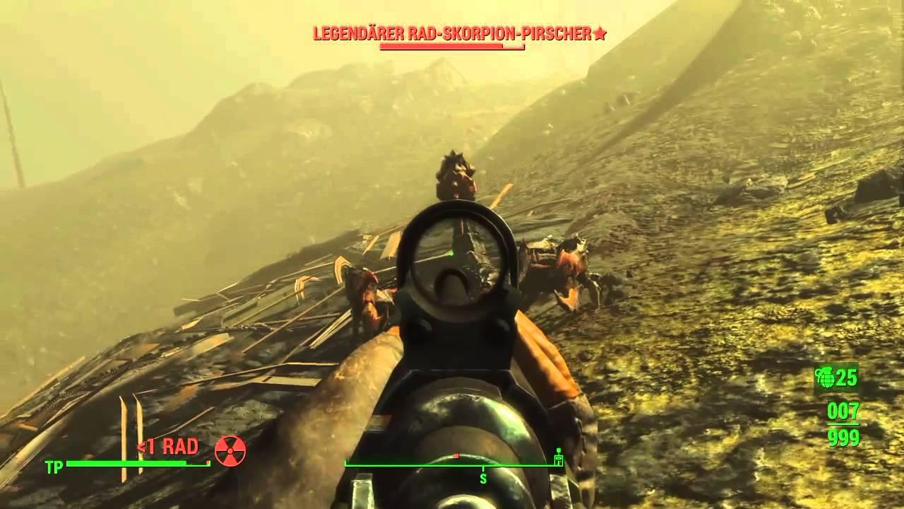 Fallout 4 Part11 Das Leuchtende Meer Youtube