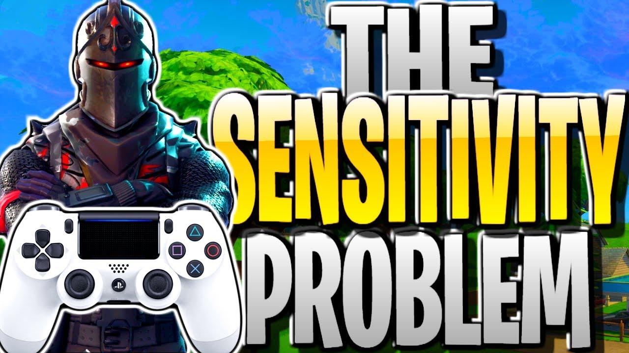 FORTNITE'S SENSITIVITY PROBLEM! BEST SETTINGS/SENSITIVITY TO USE FOR  PS4/XBOX FORTNITE