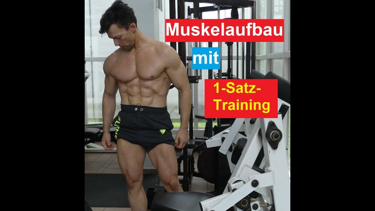 So baust Du mit 1-Satz-Training Muskeln auf! Formcheck am Ende des Videos