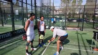 Stages padel avec Oss Padel Barcelone