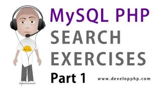 1. MySQL PHP Search Programming : Create and Populate Example Tables Script