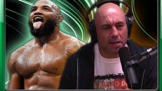 "Joe Rogan on Yoel Romero-  Reaction to UFC 205 win over Chris Weidman. ""He's a freak Athlete"""