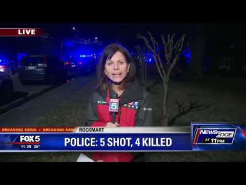 Rockmart Police chief says 5 shot, 4 killed