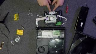 PS4 CUH-1200 Disassembly - Coins In Disc Drive
