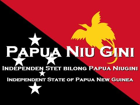 「National Anthem」Papua New Guinea - O Arise, All You Sons